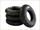 "MBS Roadie Tires - 8"" – Black"